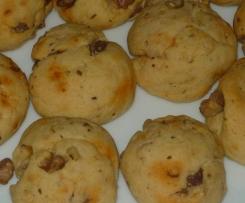 Cookies chorizo, noix et parmesan (apéritif)