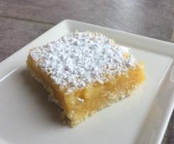 Carrés au citron (ou Lemon bars)