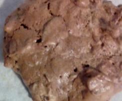 biscuit meringué aux amandes grillées caramélisées