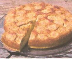 gâteau moelleux à la banane