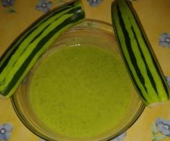 Soupe de courgettes facilébon
