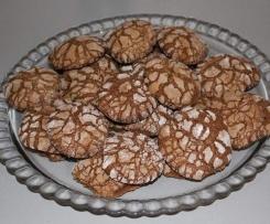 Cookies (craquelés chocolat)
