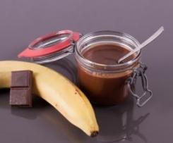 Confiture chocolat bananes