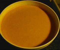 Velouté potimaron curry coco facile et rapide