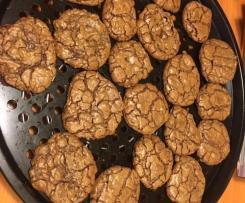 Cookies façon brownies aux noix