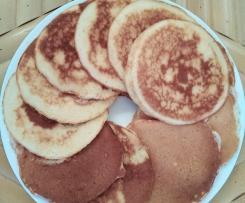 Pancakes au lait de coco et vanille