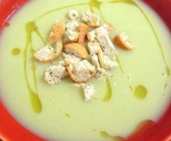 Crème de poireaux et pommes de terre