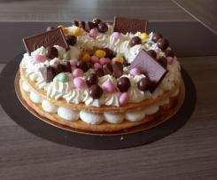 Nid de pâques façon number cake