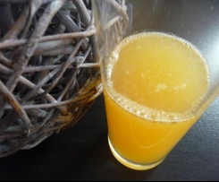 Jus de fruits ACE maison (carotte, orange, citron)