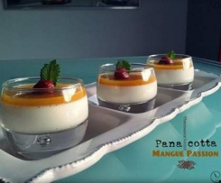 Pana Cotta mangue-passion
