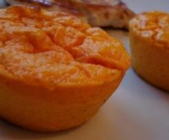 Flans carottes/parmesan et cumin