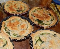 Tartelette Courgette au Boursin
