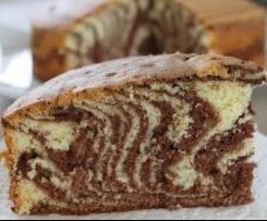 Marbré moelleux chocolat-vanille
