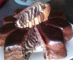 gâteau au yaourt express zèbre