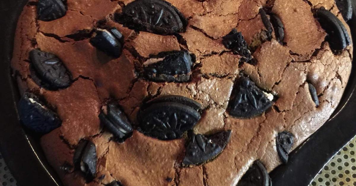 Recette gateau brownie oreo