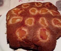 gateau pommes abricot à la poudre d'amandes