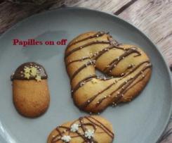 Langues de chat au chocolat -JF Piège