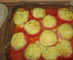 Tomates farcies ricotta saint-marcellin