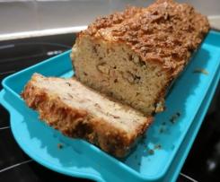Cake jambon, noix et emmental