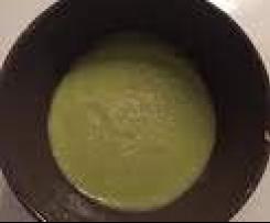 Velouté poireaux/pommes de terre/parmesan