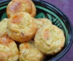 Gougères Emmental-Curry