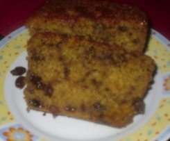 cake a l'orange aux noix et raisins