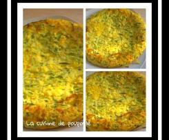 Tortilla de courgettes