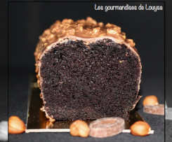 Cake au Chocolat et Glaçage Rocher