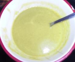 Velouté de chou vert carottes et pommes de terre