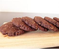 Cookies au pain sec rassis