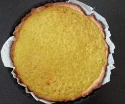 tarte a la rhubarbe