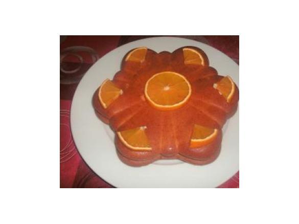 Gateau orange 1 oeuf