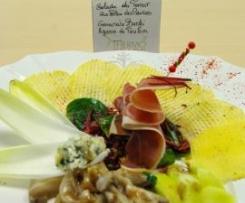 Salade du terroir au bleu des Causses