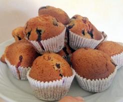 Muffins Américains aux Myrtilles