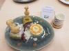 Ballotines de truite à la choucroute en chemise du potager de Jeannala&Seppala, Ecrasé de pommes de terre au raifort, Sauce Riesling Thermostars