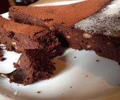 Fondant au chocolat sans rien :D