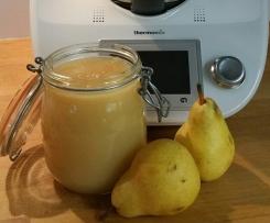 Compote poires pomme