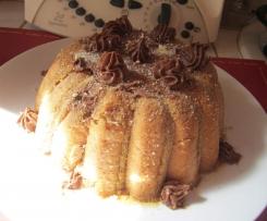 Charlotte chocolat crème de marrons