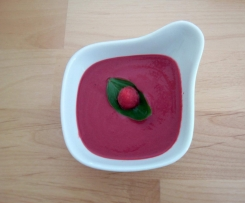 Gaspacho Framboises et Betteraves