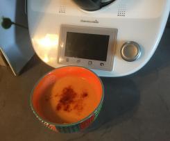 Velouté de panais et carottes