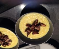 Soupe topinambour curuma