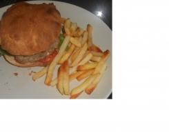 Pita façon hamburger méditerannéen