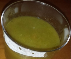 Soupe de Poireau et Carotte