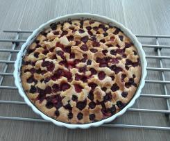 Gâteau suédois aux framboises