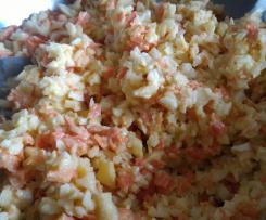 Salade de carotte et céleri rave