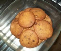 Cookies croustillants aux pépites de chocolat