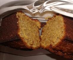 Cake au citron et aux noix
