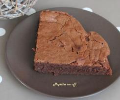 Fondant au chocolat, farine et crème de châtaignes