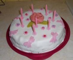 Gâteau d'anniversaire type Napolitain