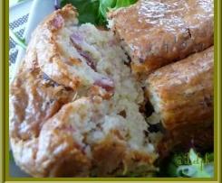 Cake au Bacon et l'Emmental